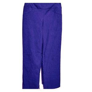 NWOT Wide leg slacks black size 4 dress pants